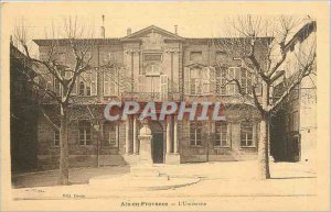 Old Postcard Aix en Provence L'Universite
