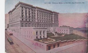 Fairmont Hotel on Nob Hill, San Francisco California 1928