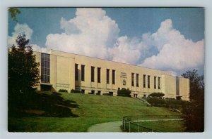 Charleston WV Stonewall Jackson High School Closed Chrome West Virginia Postcard