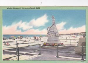 New Hampshire Hampton Beach The Marine Memorial 1964