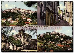 Postcard Modern Cagnes-sur-mer view Gnrale Grimaldi castle