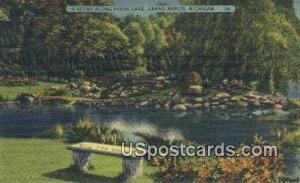 Reeds Lake Grand Rapids MI 1938 Missing Stamp