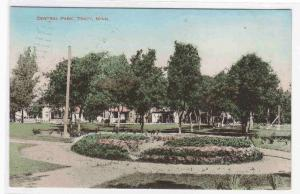 Central Park Tracy Minnesota 1913 postcard