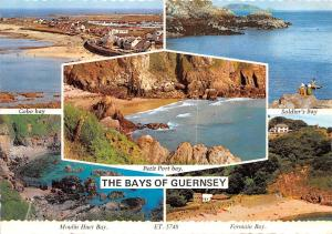 The Bays of Guernsey, Cobo Bay, Soldier's Bay, Petit Port, Moulin Huet