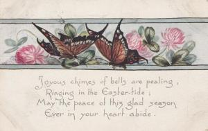 Butterflies and Easter Tide Greetings - pm 1919 - DB