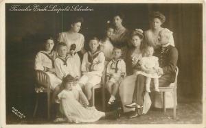 Archduke Leopold Salvator of Austria royal family photo postcard Adele Wien 1912