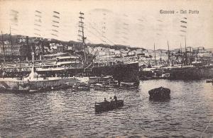 Italy Genova Porto Harbour
