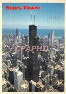 Modern Postcard Sears Tower Chicago