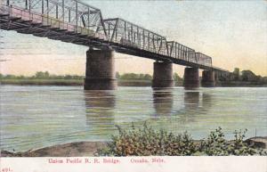 Nebraska Omaha Union Pacific Railroad Bridge 1909