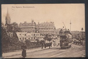 Dorset Postcard - The Square, Bournemouth    RS8327