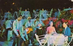 Jamaica Montego Bay Diners With Calypso Band Gloucester House