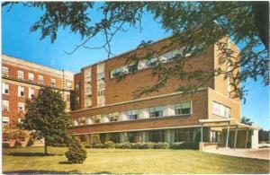 Allen Memorial Hospital, Waterloo, Iowa, IA, Chrome