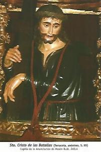 POSTAL 54461: Cristo de las Batallas (siglo XV). Avila