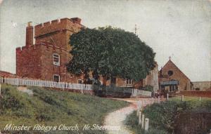 Minster Abbey Church Nr Sheerness Postcard