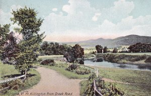 RUTLAND, Vermont, PU-1909; Mt. Killington From Creek Road