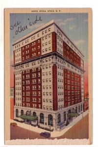 Hotel Utica, Utica, New York,