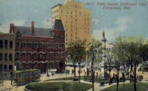 Public Square Youngstown OH 1913