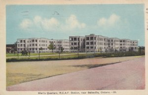 Near BELLEVILLE, Ontario, Canada, PU-1942; Men's Quarters, R.C.A.F. Station