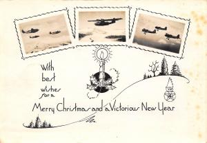Military Christmas~WWII Victorious New Year~Fleet Air Wing 4~1944 Photograph