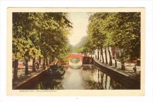 Bridge, Reguliersgracht, Amsterdam (North Holland), Netherlands, 1910-1920s