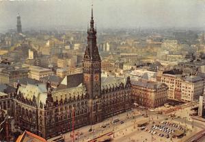 Hamburg Rathausmarkt, Town Hall Market, Aerial view Cars Auto Voitures