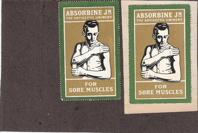 Absorbine Antiseptic Liniment label