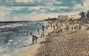 MIAMI BEACH, Florida, 1930-1940´s; 71st Street Beach