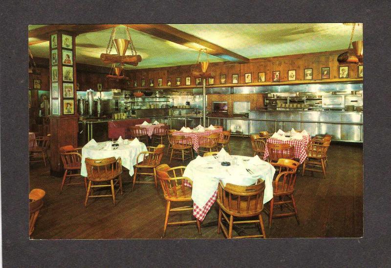 Ny Gallagher Steak House Restaurant New York City New York