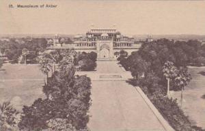 India Mausoleum of Akbar