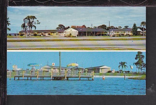 Sunset Beach Motel Sebring Fl Postcard