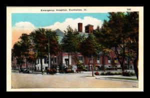 EMERGENCY HOSPITAL KANKAKEE ILLINOIS