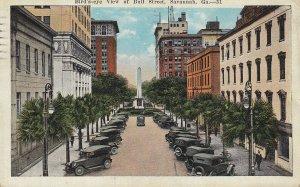 Bull Street , Savannah , Georgia , PU-1922
