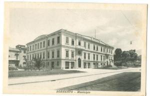 Italy, Sorrento, Sant´Agnello, Municipio, early 1900s