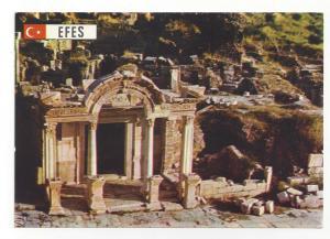 Turkey Efes Ephesus Hadrian Temple Arcadian Street Postcard
