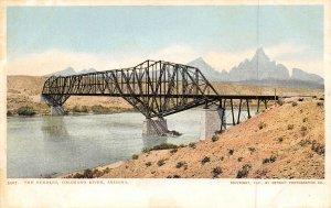 The Needles Bridge Colorado River Arizona 1907c postcard