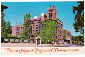 Palmer College of Chiropractic, Davenport IA