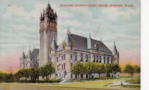 Spokane County Court House, Spokane, Washington, 1900-1910s