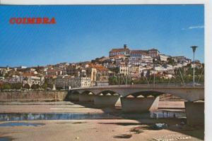 Postal 008151 : Puente sobre el Mondego y vista de la ciudad de Coimbra