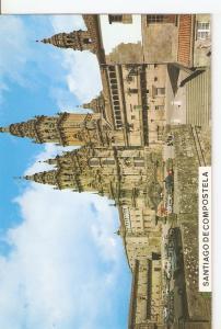Postal 045618 : Santiago de Compostela. Catedral. Fachada del Obradoiro (sigl...