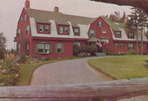 FD Roosevelt Roosevelts Summer Home Campobello Island Canada Canadian Postcard