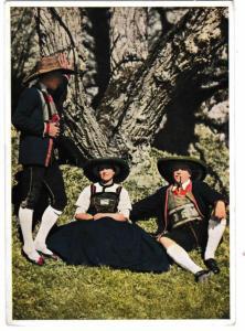 Postcard Austria Tirol Wipptol Country Costume