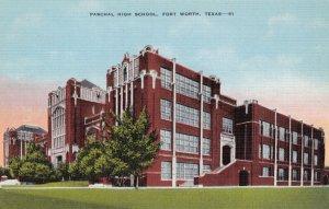 FORT WORTH , Texas , 1930-40s ; Paschal High School