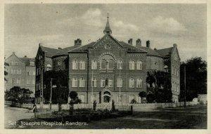 denmark, RANDERS, Sct. Josephs Hospital (1930s) Postcard