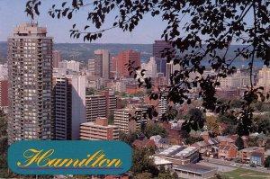 Canada - Ontario, Hamilton. Overlooking the City