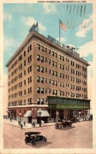 Florida Jacksonville Hotel Burbridge 1923