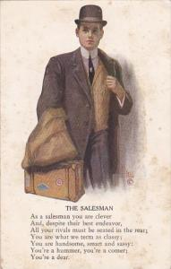 The Salesman Signed Brill 1911