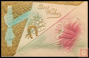 Best Wishes / Greetings (Embossed)