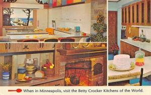 Minneapolis MN Betty Crocker Kitchens of The World at General Mills Postcard