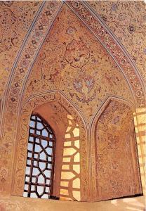 BG21172 esfahan wandmalereien Isfahan iran