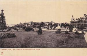 TUCK #7094; HAMPTON, Virginia; View of Grounds-Solidiers' Home, 00-10s